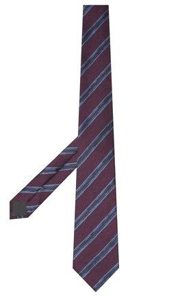 Мужской галстук из шелка и шерсти ERMENEGILDO ZEGNA фиолетового цвета, арт. Z8E34/18H | Фото 2
