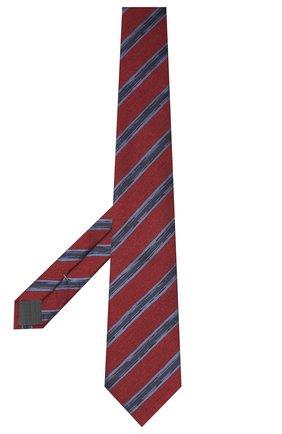 Мужской галстук из шелка и шерсти ERMENEGILDO ZEGNA красного цвета, арт. Z8E34/18H | Фото 2