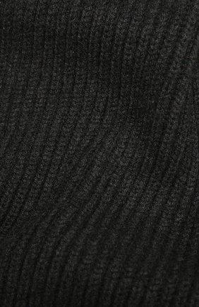 Мужской кашемировый шарф DOLCE & GABBANA темно-серого цвета, арт. GX702T/JAW0V | Фото 2