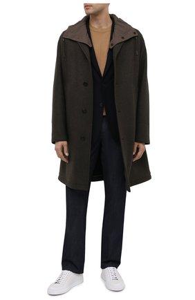 Мужской шерстяной пиджак Z ZEGNA темно-синего цвета, арт. 854719/1X7YG0   Фото 2