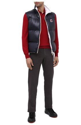 Мужское шерстяное поло GRAN SASSO красного цвета, арт. 45132/14790 | Фото 2