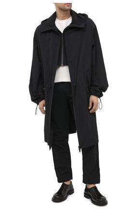 Мужские кожаные дерби PREMIATA черного цвета, арт. 31719/LUX | Фото 2