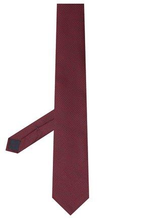 Мужской галстук из хлопка и шелка VAN LAACK красного цвета, арт. LUIS-EL/K04108   Фото 2