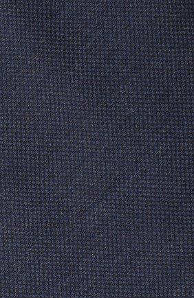 Мужской галстук из шелка и шерсти VAN LAACK темно-синего цвета, арт. LUIS-EL/K04102 | Фото 3