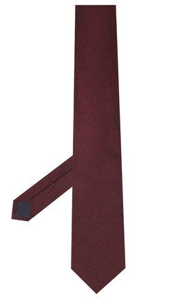 Мужской галстук из шелка и шерсти VAN LAACK бордового цвета, арт. LUIS-EL/K04102   Фото 2