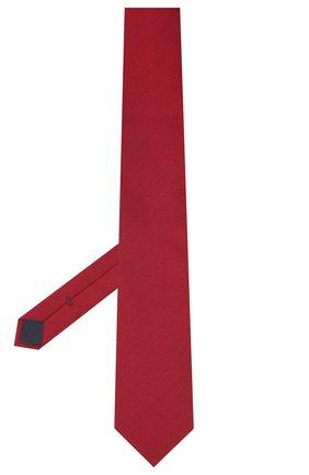 Мужской галстук из шелка и шерсти VAN LAACK красного цвета, арт. LUIS-EL/K04102   Фото 2