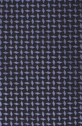 Мужской галстук из шелка и хлопка VAN LAACK синего цвета, арт. LUIS-EL/K04095 | Фото 3