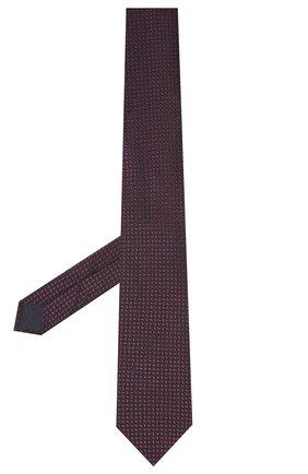 Мужской галстук из шелка и хлопка VAN LAACK фиолетового цвета, арт. LUIS-EL/K04095 | Фото 2