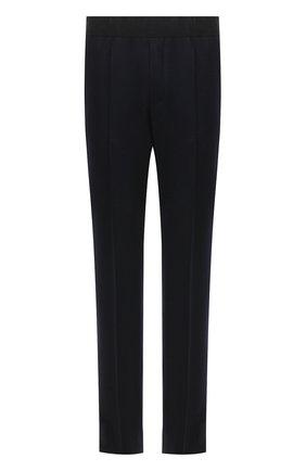 Мужские шерстяные брюки TOM FORD темно-синего цвета, арт. 877R11/63004R | Фото 1
