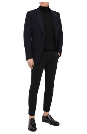 Мужской шерстяной пиджак TOM FORD темно-синего цвета, арт. 877R11/13M440 | Фото 2