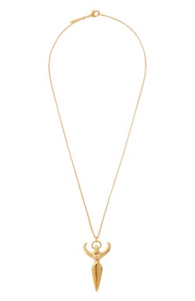 Женская кулон с цепочкой feminities CHLOÉ золотого цвета, арт. CHC19SF076CB7 | Фото 1 (Материал: Металл)