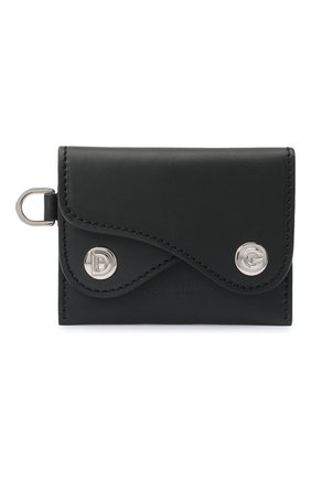 Женский кожаный футляр для кредитных карт DOLCE & GABBANA черного цвета, арт. BI2854/AW673 | Фото 1