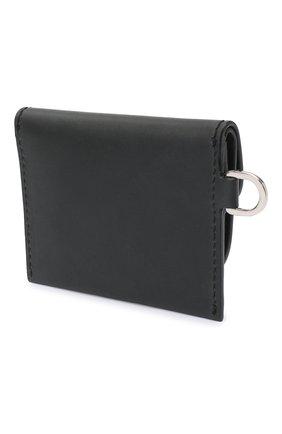 Женский кожаный футляр для кредитных карт DOLCE & GABBANA черного цвета, арт. BI2854/AW673 | Фото 2