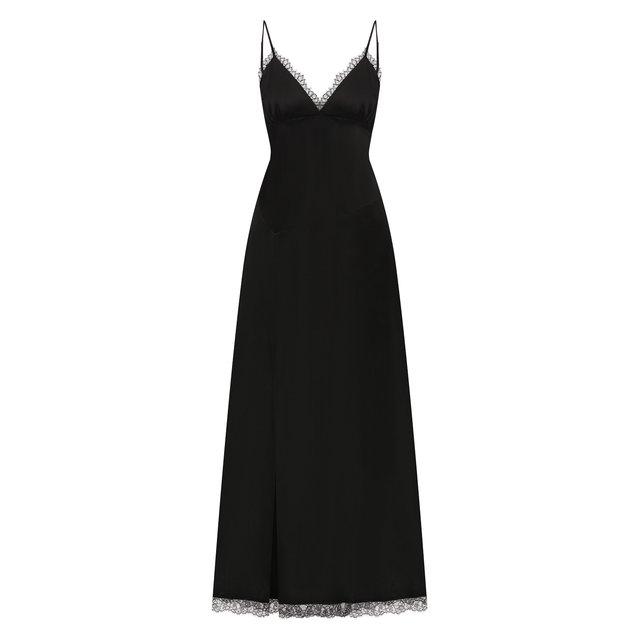 Платье из хлопка и вискозы Mm6