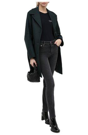 Женские джинсы MM6 темно-серого цвета, арт. S32LA0206/S30684 | Фото 2