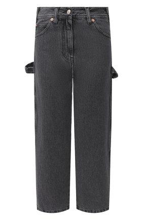Женские джинсы MM6 темно-серого цвета, арт. S32LA0217/S30652 | Фото 1