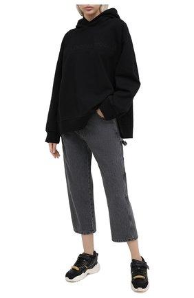 Женские джинсы MM6 темно-серого цвета, арт. S32LA0217/S30652 | Фото 2