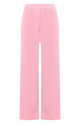 Женские хлопковые брюки MM6 розового цвета, арт. S62KB0059/S25409 | Фото 1