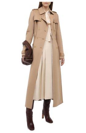 Женское кашемировое пальто GABRIELA HEARST бежевого цвета, арт. 120600 C003 | Фото 2