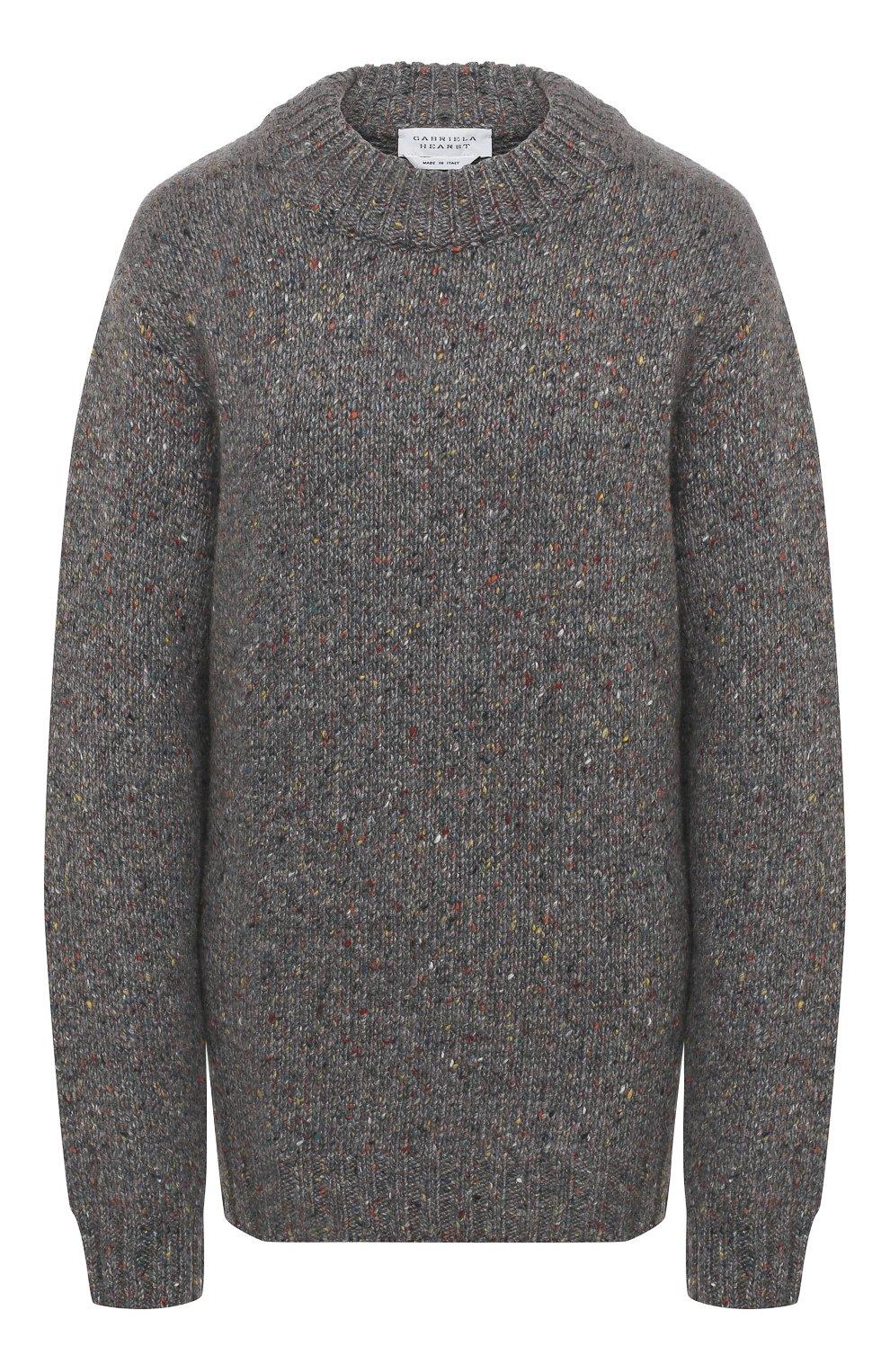 Женский кашемировый свитер GABRIELA HEARST серого цвета, арт. 120957 A009 | Фото 1