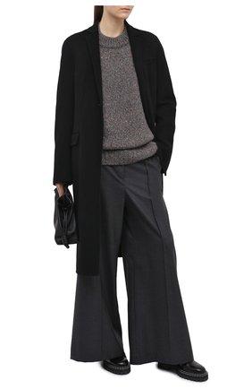 Женский кашемировый свитер GABRIELA HEARST серого цвета, арт. 120957 A009 | Фото 2
