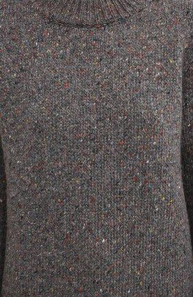 Женский кашемировый свитер GABRIELA HEARST серого цвета, арт. 120957 A009 | Фото 5