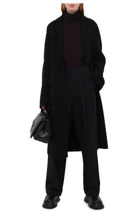 Женская шерстяная водолазка DRIES VAN NOTEN бордового цвета, арт. 202-11290-1700 | Фото 2