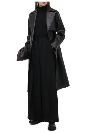 Женская шерстяная водолазка DRIES VAN NOTEN черного цвета, арт. 202-11290-1700 | Фото 2