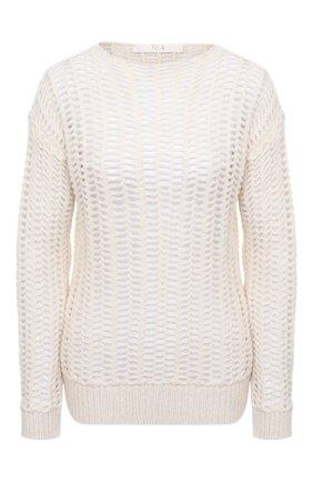Женский шерстяной пуловер TELA кремвого цвета, арт. B2 2375 07 T123 | Фото 1