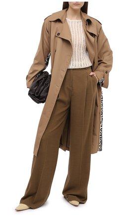 Женский шерстяной пуловер TELA кремвого цвета, арт. B2 2375 07 T123 | Фото 2
