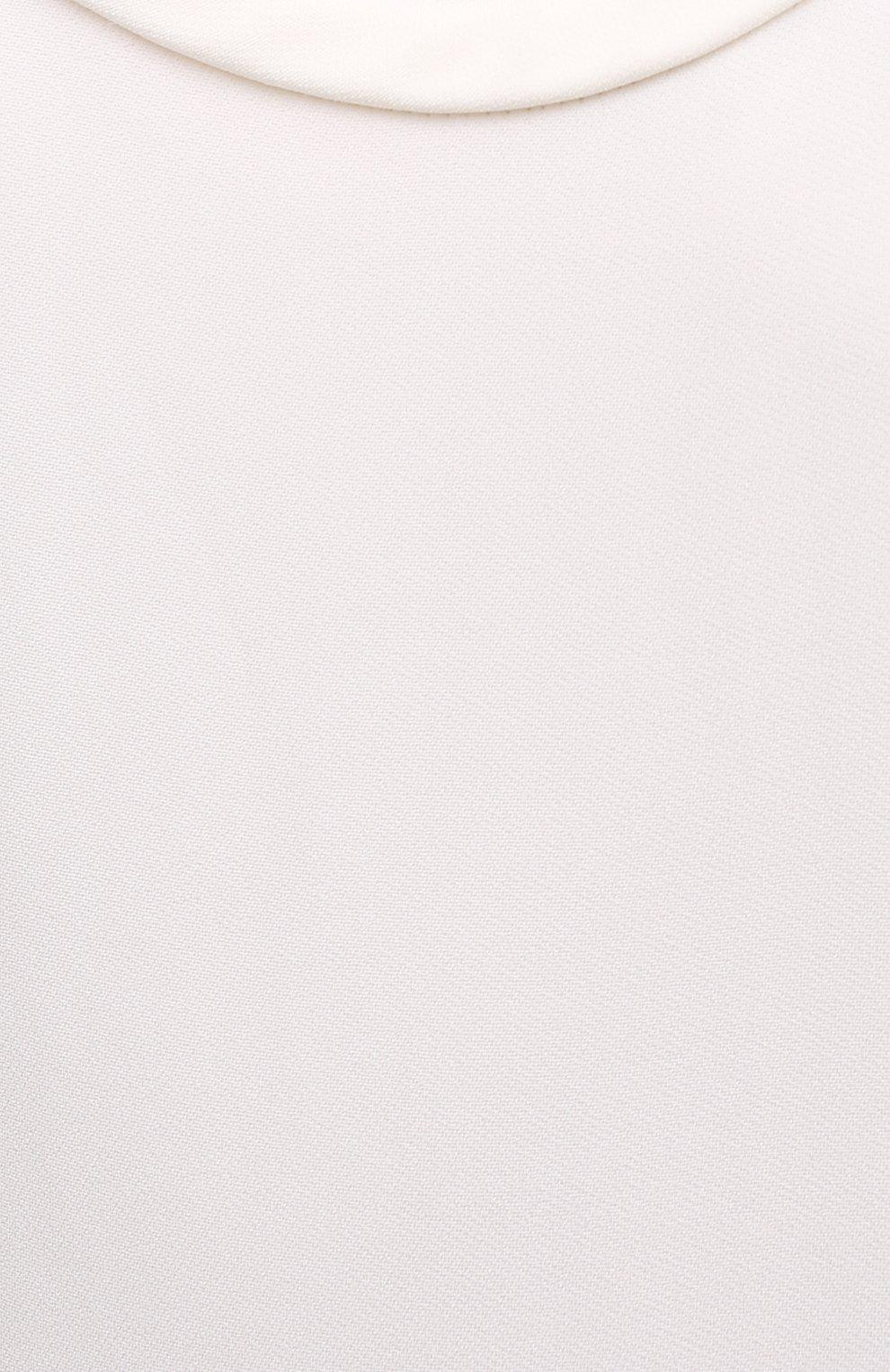 Женский майка из вискозы VALENTINO белого цвета, арт. UB0AE5715VE | Фото 5