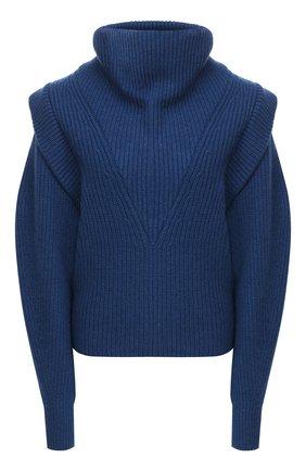 Женский свитер из кашемира и шерсти ISABEL MARANT синего цвета, арт. PU1471-20H003I/P0PPY | Фото 1