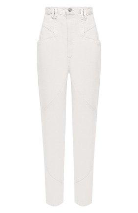 Женские джинсы ISABEL MARANT белого цвета, арт. PA1759-20H029I/NADEL0ISA   Фото 1