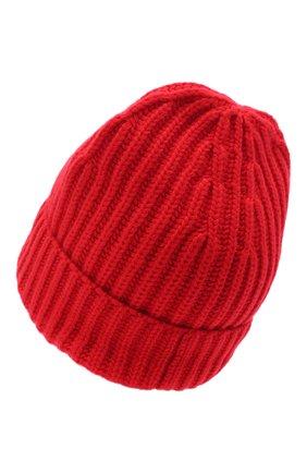 Женский кашемировая шапка LORO PIANA красного цвета, арт. FAL4842 | Фото 2