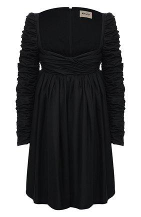 Женское хлопковое платье KHAITE черного цвета, арт. 5149108/SUEANNE   Фото 1