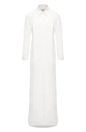Женское платье KHAITE белого цвета, арт. 5152401/GABBY | Фото 1