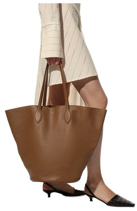 Женский сумка-тоут the osa medium KHAITE светло-коричневого цвета, арт. H1001-735/0SA | Фото 2