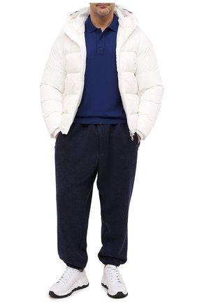 Мужское шерстяное поло PAUL&SHARK синего цвета, арт. C0P1050/FLV/3XL-6XL | Фото 2