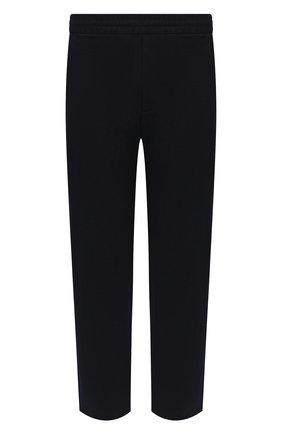 Мужские шерстяные брюки HARRIS WHARF LONDON темно-синего цвета, арт. C7015MYM/58 | Фото 1 (Материал внешний: Шерсть; Длина (брюки, джинсы): Стандартные; Случай: Повседневный; Стили: Кэжуэл)