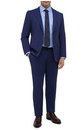 Мужская хлопковая сорочка ETON голубого цвета, арт. 1000 01391   Фото 2