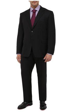 Мужской шерстяной костюм CANALI черного цвета, арт. 11280/10/AA00099/60-64 | Фото 1