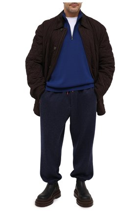 Мужской джемпер PAUL&SHARK синего цвета, арт. C0P1028/FUP/3XL-6XL | Фото 2