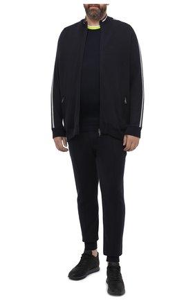 Мужской спортивный костюм PAUL&SHARK темно-синего цвета, арт. I20P1243/H2V/3XL-6XL | Фото 1