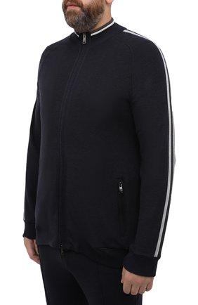 Мужской спортивный костюм PAUL&SHARK темно-синего цвета, арт. I20P1243/H2V/3XL-6XL | Фото 2