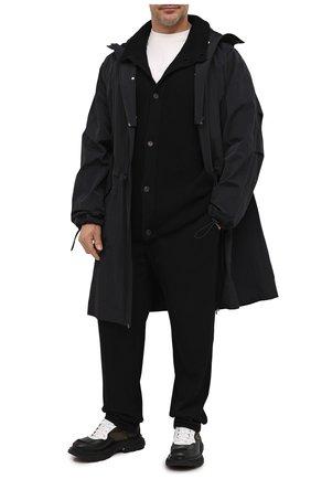 Мужской шерстяной кардиган CRUCIANI черного цвета, арт. CU26.241/60-68   Фото 2
