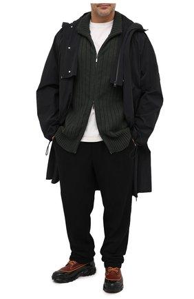 Мужской шерстяной кардиган CRUCIANI зеленого цвета, арт. CU26.232/60-68 | Фото 2