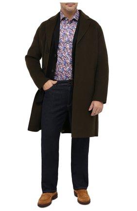 Мужская хлопковая рубашка ETON разноцветного цвета, арт. 1000 01750 | Фото 2