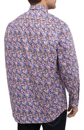 Мужская хлопковая рубашка ETON синего цвета, арт. 1000 01750   Фото 4