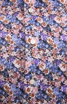 Мужская хлопковая рубашка ETON синего цвета, арт. 1000 01750   Фото 5
