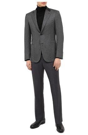 Мужские кожаные лоферы ALDO BRUE черного цвета, арт. AB4037.CM.L.BU | Фото 2